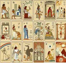 tarocchi egizi